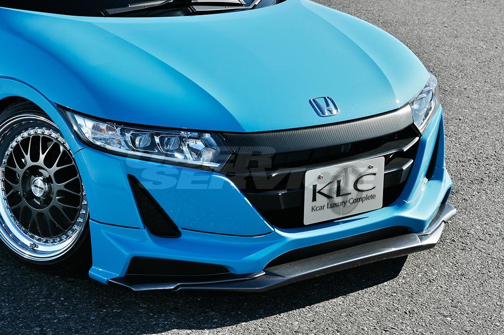 KLC S660 JW5 フロント エクステンション リップ 無限フロントアンダースポイラー専用 Premium GT プレミアムGT ケイエルシー