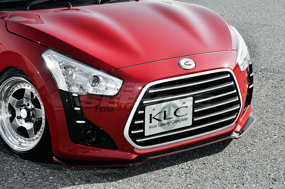 KLC LA400K GT コペン Premium フロント ケイエルシー ローブ グリル プレミアムGT