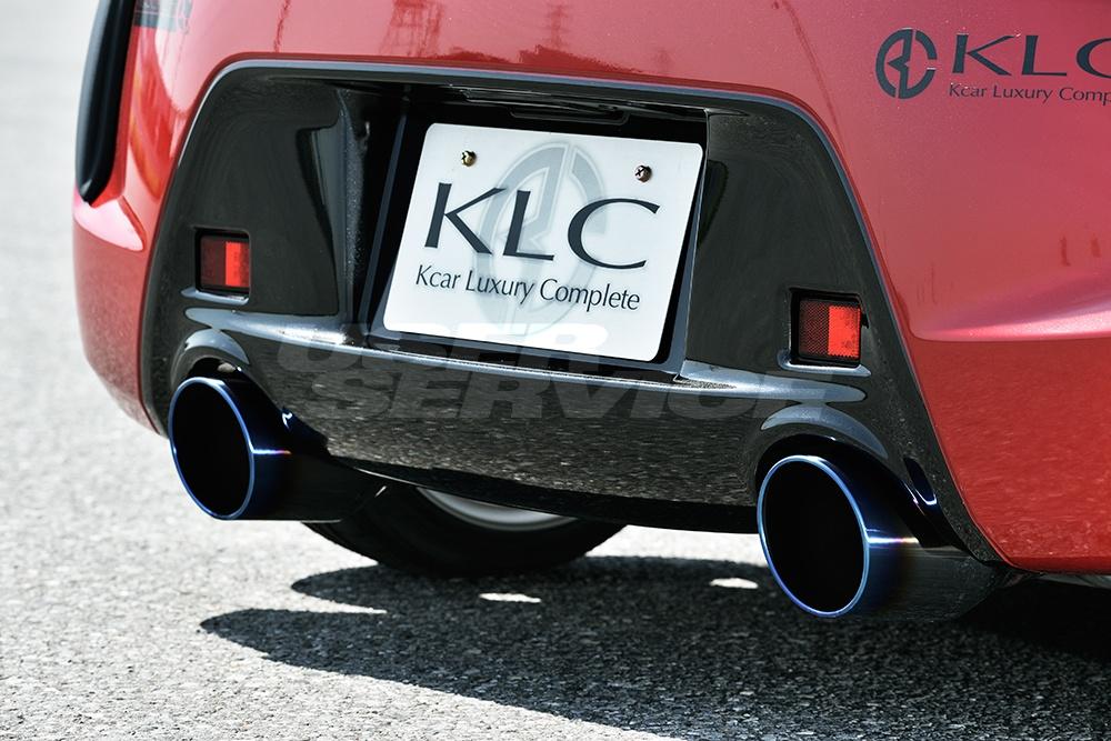 KLC コペン LA400K ローブ マフラーカッター 115φ Premium GT プレミアムGT ケイエルシー