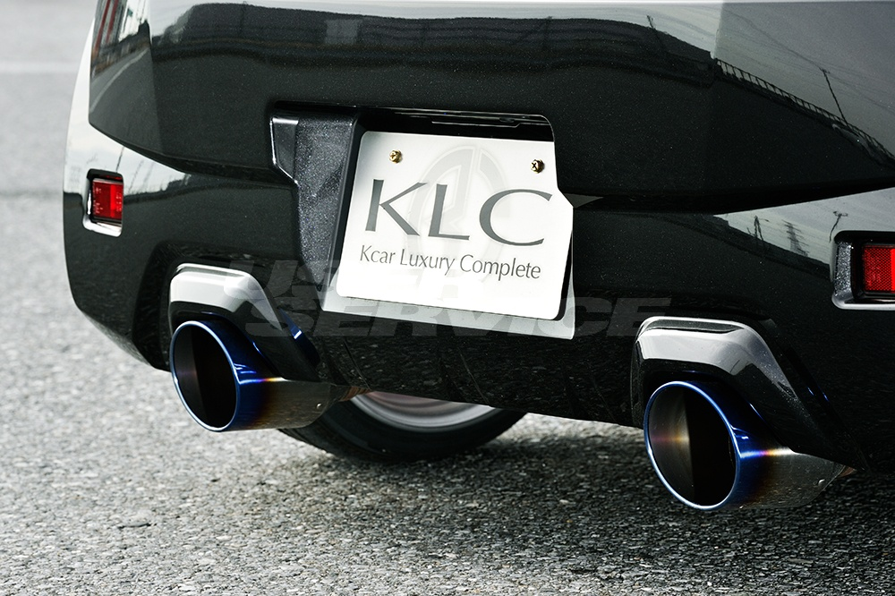 KLC コペン LA400K エクスプレイ マフラーカッター 115φ Premium GT プレミアム GT ケイエルシー