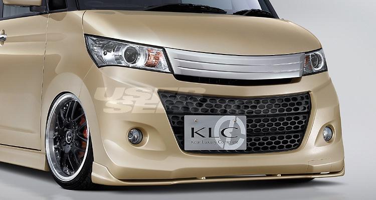 KLC パレットSW MK21S MC(マイナーチェンジ)前後 フロントアンダーリップ Insolite ケイエルシー 個人宅発送不可