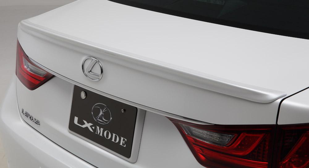 LXモード レクサス 10系(GWL10 AWL10 GRL11/12/16) 後期 LX トランクスポイラー 未塗装 LX-MODE 配送先条件有り