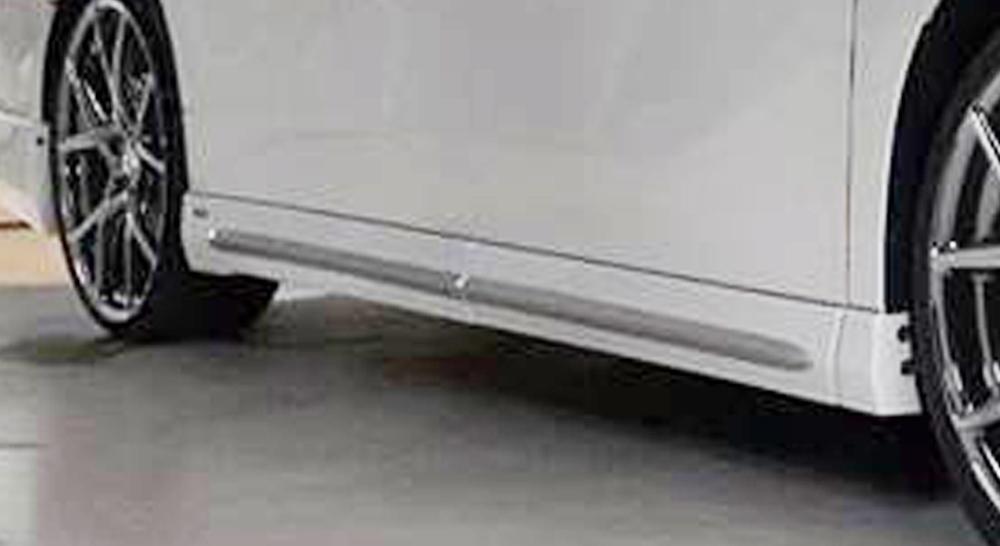 LXモード アルファード アルファードハイブリッド 30系 AGH30/35 GGH30/35 AYH30 後期 LXカラード サイドマッドガード エアロバンパー用 未塗装 LX-MODE 配送先条件有り