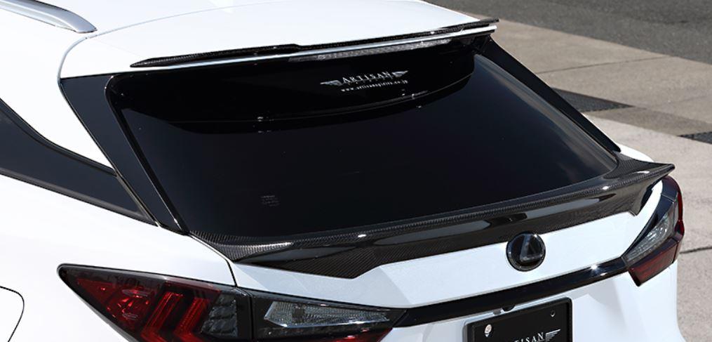 ARTISAN SPIRITS レクサス RX 300 200t 450h 350 標準車 AGL20W GYL20W 20系 リアゲートスポイラー スポーツラインブラックレーベル アーティシャンスピリッツ