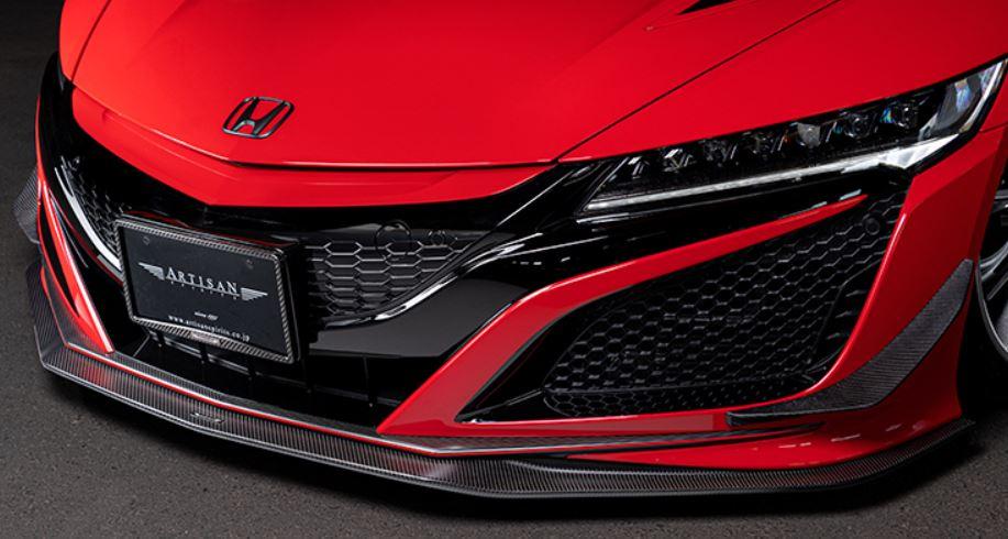 ARTISAN SPIRITS NSX NC1 フロントアンダースポイラー カーボンタイプ スポーツラインブラックレーベル アーティシャンスピリッツ 配送先条件有り