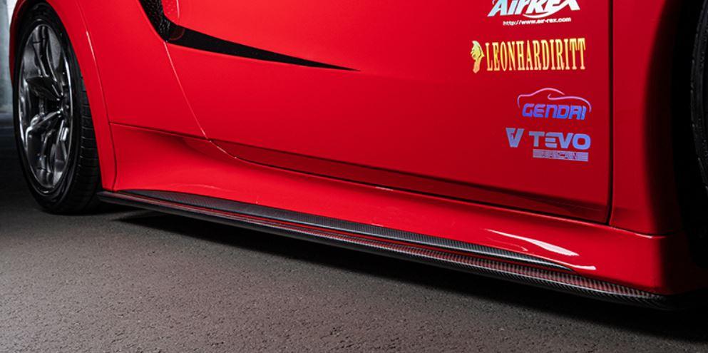 ARTISAN SPIRITS NSX NC1 サイドアンダースポイラー カーボンタイプ スポーツラインブラックレーベル アーティシャンスピリッツ 配送先条件有り