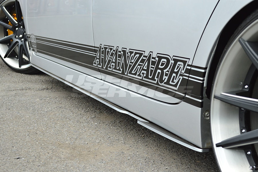 AVANZARE アヴァンツァーレ プリウス 30系 ZVW30 サイドステップスポイラー ガレージアンサー製 INTERESSE SPORT NEXT STYLE インテレッセ スポルト ネクスト スタイル