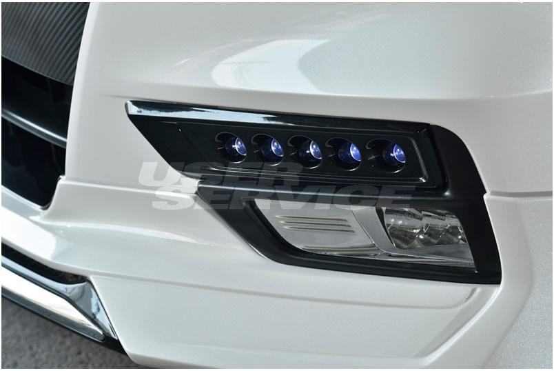 アドミレイション セレナ C27 LEDスポットKIT 5連 未塗装 ADMIRATION DEPORTE デポルテ 個人宅発送追金有