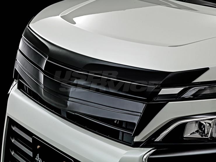 アドミレイション ヴォクシー ZWR ZRR 80 85 フロントフェイスグリル キット 単色塗装済 ADMIRATION DEPORTE デポルテ 個人宅発送追金有