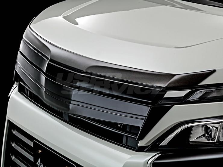 アドミレイション ヴォクシー ZWR ZRR 80 85 フロントフェイスグリル キット 2色塗り分け塗装済 ADMIRATION DEPORTE デポルテ 個人宅発送追金有