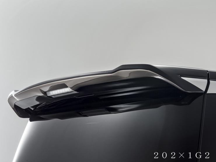 アドミレイション ヴェルファイア 30系 GGH/AGH 30・35/AYH30 リヤルーフウィング ウイング 未塗装 ADMIRATION Belta ベルタ 個人宅発送追金有