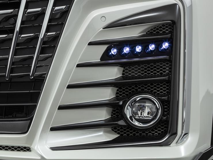 アドミレイション アルファード 30系 GGH/AGH 30・35/AYH30 LEDスポットキット 5連タイプ ADMIRATION Belta ベルタ 個人宅発送追金有