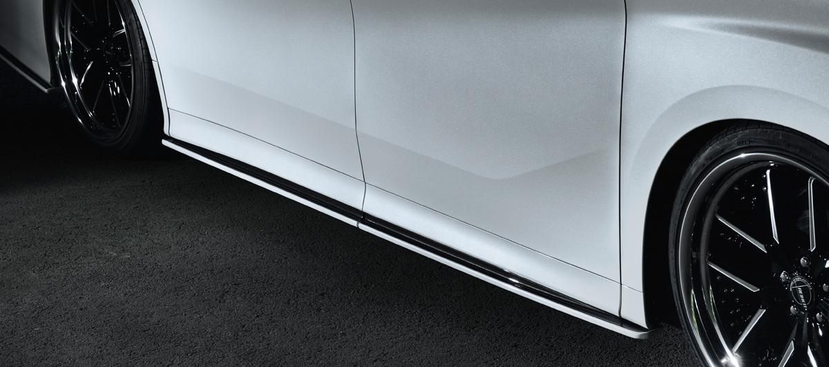 ヴェルファイア アドミレイション サイドアンダースポイラー エアロパーツ 格安激安 30系 GGH AGH 30 35 単色塗装済 LSC エルエスシー おトク AYH30 ADMIRATION 個人宅発送不可 L.S.C 後期