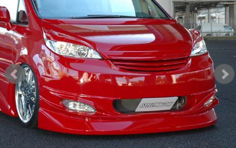 アフェクション ステップワゴン スパーダ RG1 RG2 RG3 RG4 プラチナ3点セット 未塗装 AFFECTION ULTIMATE アルティメット