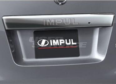 IMPUL インパル NV350キャラバン E26 前期 リアパネルプレート FRP 未塗装 エアロダイナミクスシステム