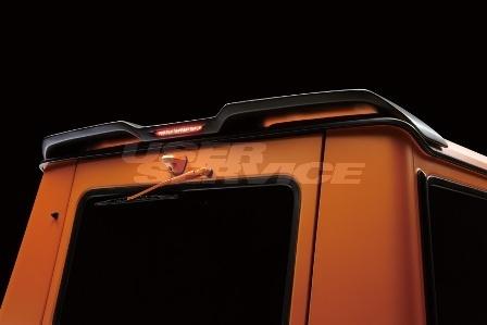 WALD ヴァルド メルセデス・ベンツ W463 Gクラス ルーフスポイラー 未塗装 Sports Line Black Bison スポーツライン ブラックバイソン