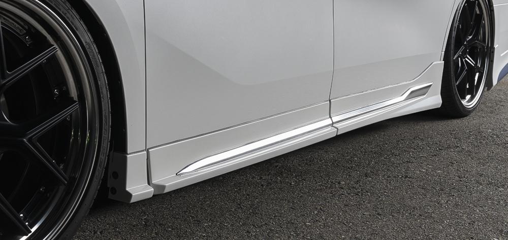 WALD ヴァルド アルファード 30系 AYH30W AGH30W GGH30W S SC SR サイドメッキガーニッシュセット サイドステップ用 EXECUTIVE LINE エグゼクティブライン