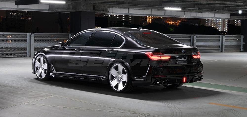 WALD ヴァルド BMW G12 7シリーズ サイドステップ 未塗装 SPORTS LINE BLACK BISON EDITION スポーツラインブラックエディション