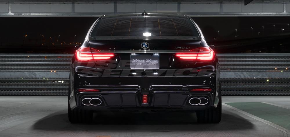 WALD ヴァルド BMW G12 7シリーズ マフラーカッター SPORTS LINE BLACK BISON EDITION スポーツラインブラックエディション マフラーカッター WALD ヴァルド BMW G12 7シリーズ マフラーカッター SPORTS LINE BLACK BISON EDITION スポーツラインブラックエディション