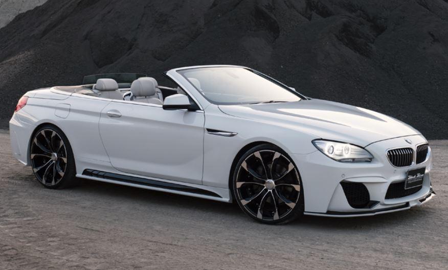WALD ヴァルド BMW F12 F13 6シリーズ カブリオレ クーペ 3Pキット セット 未塗装 SPORTS LINE BLACK BISON EDITION スポーツラインブラックエディション