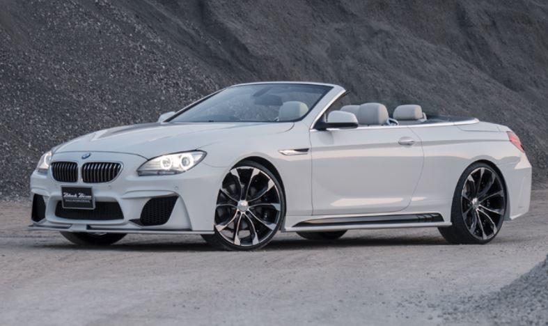 WALD ヴァルド BMW F12 F13 6シリーズ カブリオレ クーペ サイドステップ 未塗装 SPORTS LINE BLACK BISON EDITION スポーツラインブラックエディション