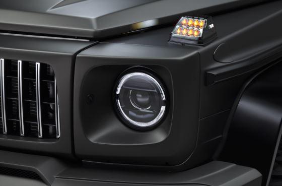 WALD ヴァルド メルセデス・ベンツ W463 Gクラス ヘッドライトカバー 未塗装 SPORTS LINE BLACK BISON EDITION スポーツラインブラックエディション