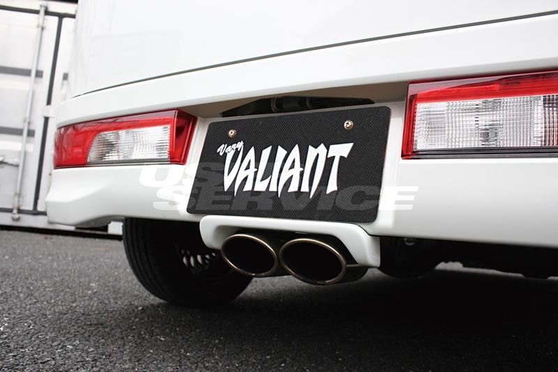 ガレージベリー エブリィワゴン エブリー エブリイ DA17W マフラーガーニッシュ FRP 501-004 GARAGE VARY VALIANT ヴァリアント