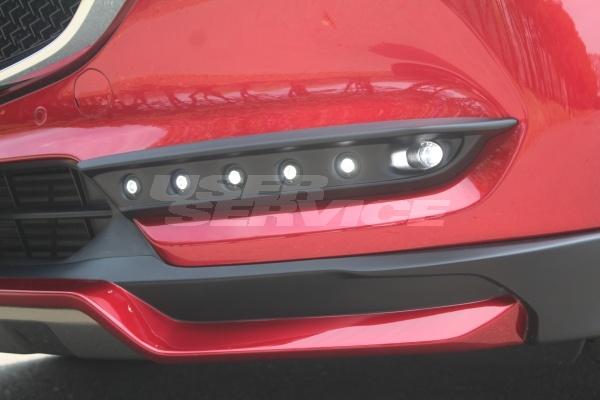 ガレージベリー CX-8 KG2P デイライトパネル LED付き FRP 35-0029 GARAGE VARY VALIANT ヴァリアント