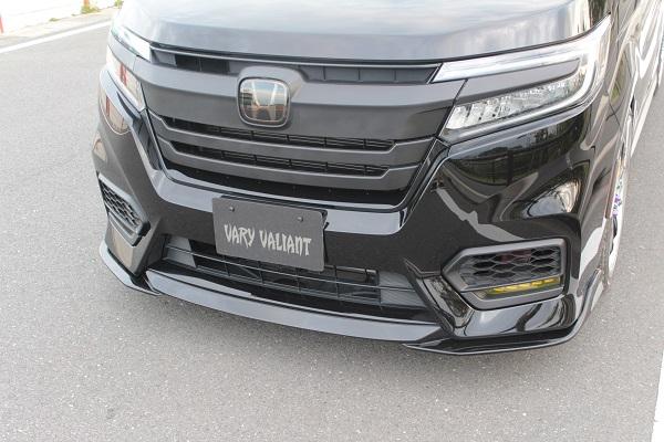 ガレージベリー ステップワゴン DBA-RP3 RP4 6AA-RP5 後期 フロントリップスポイラー ウレタン 3-5203 GARAGE VARY VALIANT ヴァリアント 個人宅発送追金有
