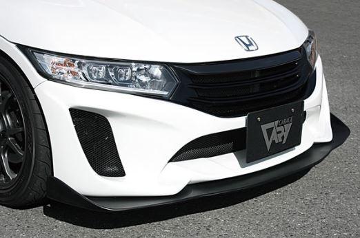 ガレージベリー S660 JW5 フロントバンパー用リップスポイラー FRP 660-019 GARAGE VARY  配送先条件有り