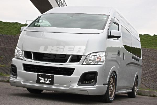 ガレージベリー キャラバン E26 バットフェイススムージングパネル FRP 31-0026 GARAGE VARY VALIANT ヴァリアント 配送先条件有り