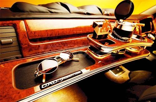 D.A.D ハイエース 200系 GL フロントテーブル フロント GARSON ギャルソン