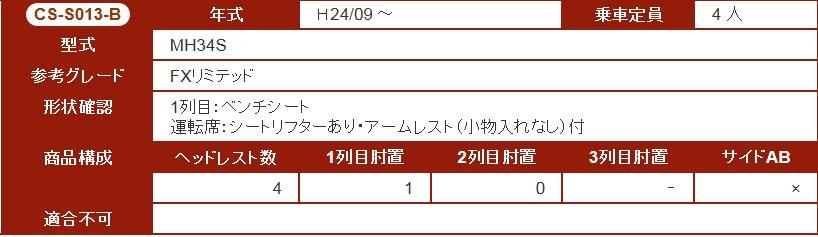 【グレイス/ワゴンR/MH34S/シートカバー】LS-EDITION/エルエスエディション/本革仕様★CS-S013-B/grace★