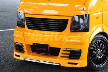 K BREAK ケイブレイク キャリイ キャリー トラック DA63T フロントバンパー グリル一体式 プラチナム PLATINUM