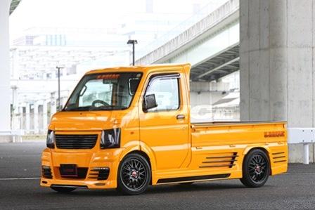 K BREAK ケイブレイク キャリイ キャリー トラック DA63T サイドステップ プラチナム PLATINUM