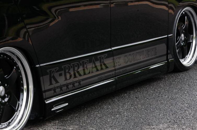 K-BREAK ケイブレイク アルファード 20系 ANH 20 前期 サイドステップ プラチナム PLATINUM