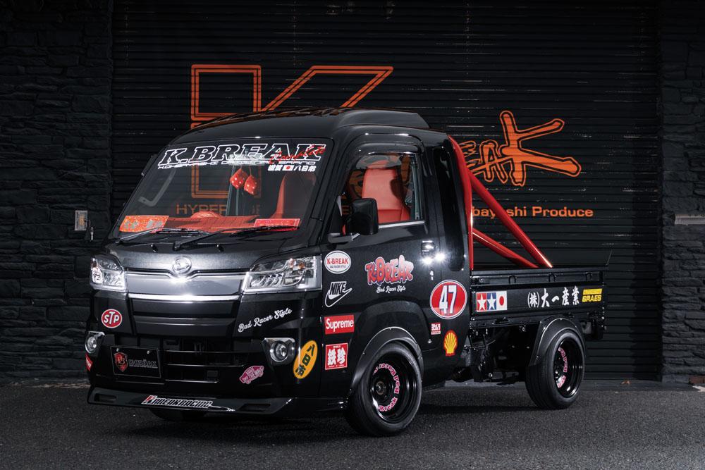 K-BREAK ケイブレイク ハイゼットトラック S500 フロントリップスポイラー Baby Gang