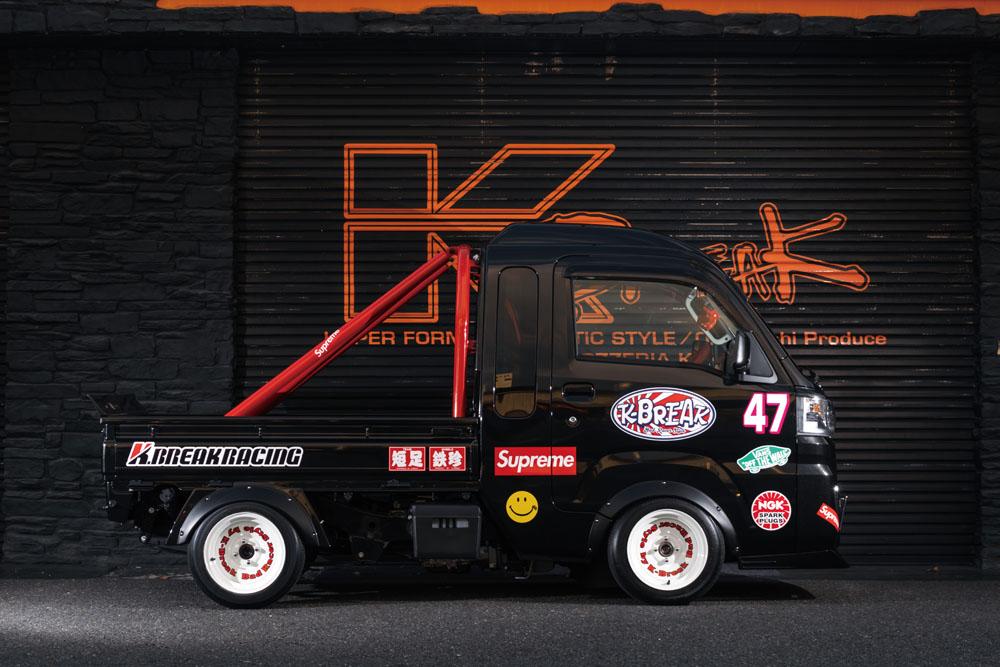 K-BREAK ケイブレイク ハイゼットトラック S500 オーバーフェンダー リア単品 Baby Gang