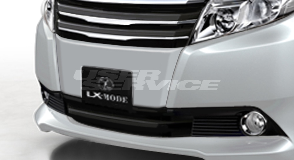 LXモード ノア 前期 フロントバンパーガーニッシュ 塗装済み LX-MODE 配送先条件有り