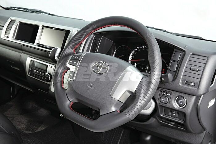 ボクシースタイル ハイエース 200系 4型 ユーロステアリング Ver.FOUR boxystyle