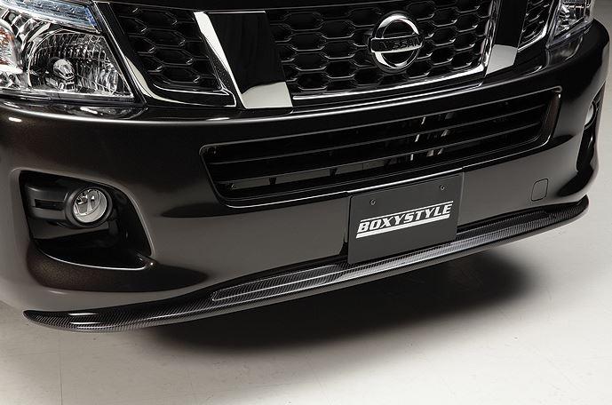 ボクシースタイル NV350キャラバン E26 1型 ワイド フロントバンパーエクステ タイプ1 boxystyle