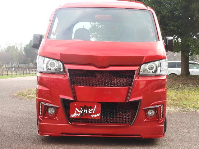 翔プロデュース ハイゼット トラック S500P S510P フロントバンパー Novel CUSTOM ノベル カスタム
