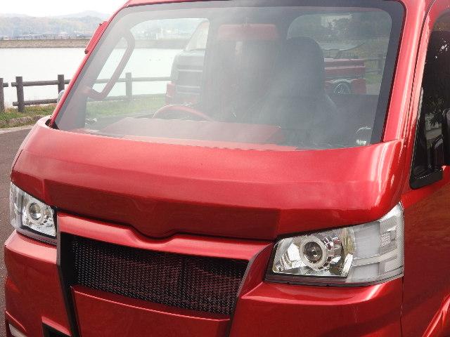 翔プロデュース ハイゼット トラック S500P S510P 3Dバットフェイス ボンネット Novel CUSTOM ノベル カスタム 配送先条件有り