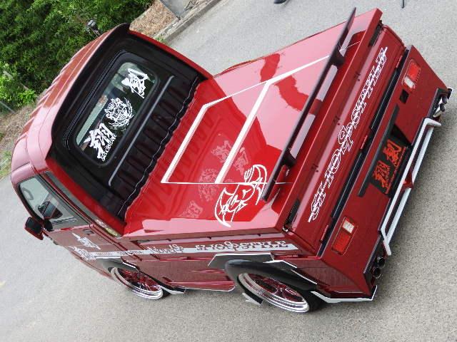 翔プロデュース ハイゼット トラック S201P S211P 3D荷台FRPカバー ダンパー付き Novel CUSTOM ノベル カスタム 配送先条件有り