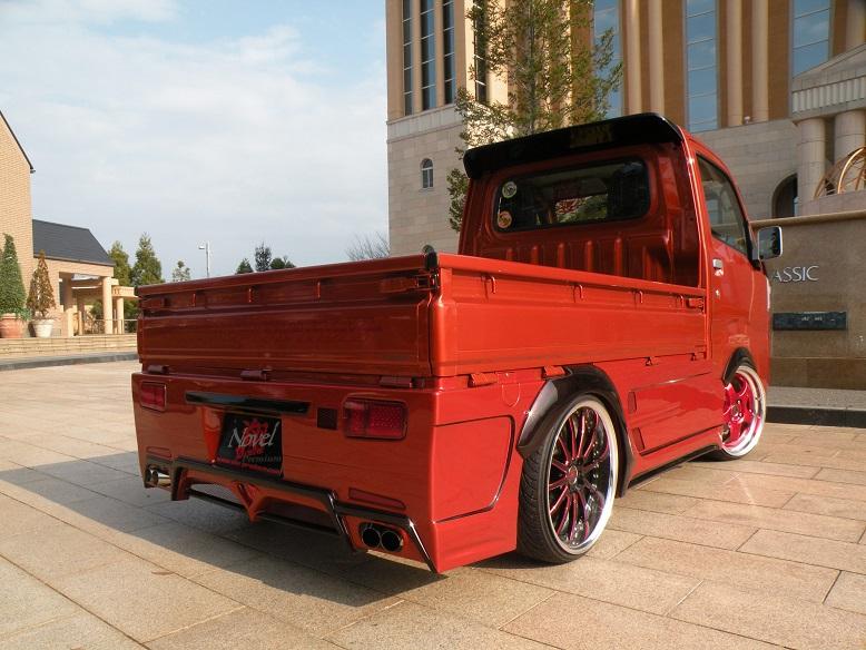 翔プロデュース ハイゼット トラック S500P S510P リアウィング ウイング Novel Premium ノベル プレミアム 超翔劇越 配送先条件有り