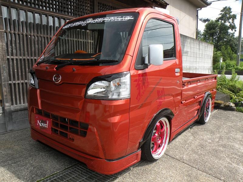 翔プロデュース ハイゼット トラック S500P S510P アイライン Novel ノベル 配送先条件有り