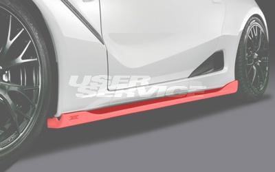 シルクブレイズ S660 DBA-JW5 α/β サイドステップ クリア塗装 SilkBlaze