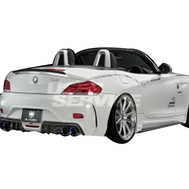 シルクブレイズ BMW E89 Z4 リアウィング 未塗装/黒ゲル グレンツェン