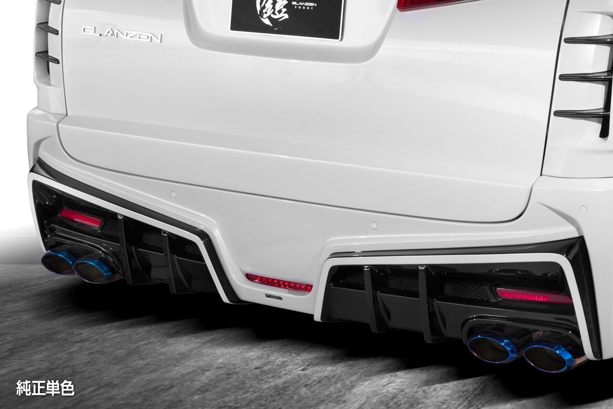 シルクブレイズ アルファード 30系 AGH/GGH/AYH 30 35W 後期 リアゲートパネル 単色塗装 SILK BLAZE GL-30AL-RG-### GLANZEN YOROI グレンツェン 鎧