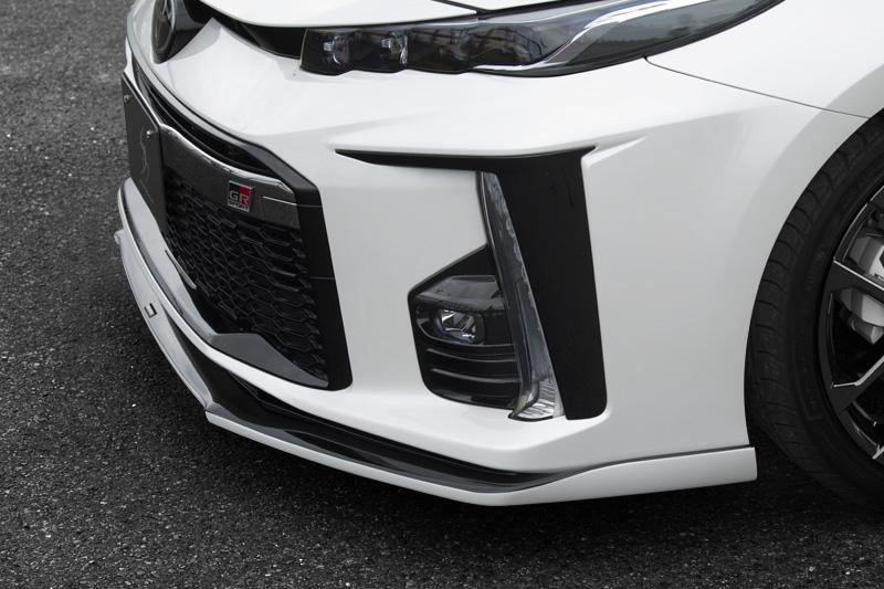 シルクブレイズ プリウスPHV 50系 ZVW52 フロントリップ タイプS 塗装済(ガンメタ2TONE) SILK BLAZE TSRPHVGR-FS-###G